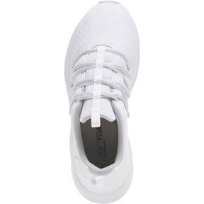 Thumbnail 5 of Prowl Alt Knit Mesh Women's Running Shoes, Puma White-Metallic Beige, medium