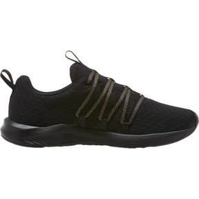 Thumbnail 3 of Prowl Alt Knit Mesh Women's Running Shoes, Puma Black-Metallic Gold, medium
