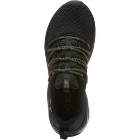 Thumbnail 5 of Prowl Alt Knit Mesh Women's Running Shoes, Puma Black-Metallic Gold, medium