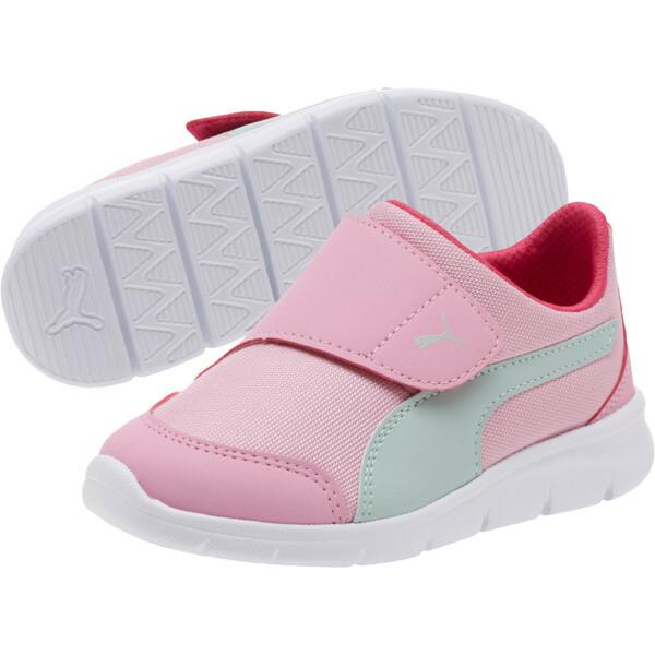 Bao 3 AC Little Kids' Shoes, Pale Pink-Fair Aqua-Purple, large