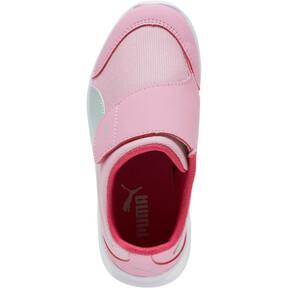 Thumbnail 5 of PUMA Bao 3 AC Little Kids' Shoes, Pale Pink-Fair Aqua-Purple, medium