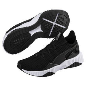 Thumbnail 2 of Defy Women's Trainers, Puma Black-Puma White, medium