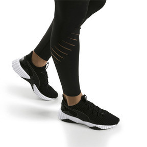 Thumbnail 7 of Defy Women's Trainers, Puma Black-Puma White, medium