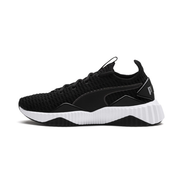 Defy Women's Trainers, Puma Black-Puma White, large