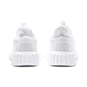Thumbnail 4 of Defy Damen Sneaker, Puma White-Puma White, medium