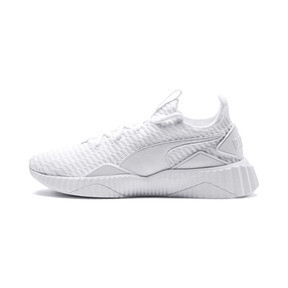 Thumbnail 1 of Defy Damen Sneaker, Puma White-Puma White, medium