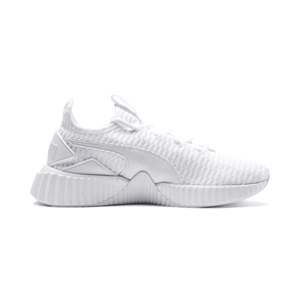 Defy Women's Trainers, Puma White-Puma White, large