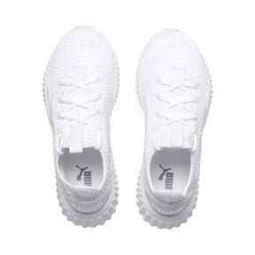 Thumbnail 6 of Defy Damen Sneaker, Puma White-Puma White, medium