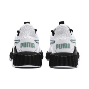 Thumbnail 4 of Defy Women's Trainers, Puma White-Puma Black, medium