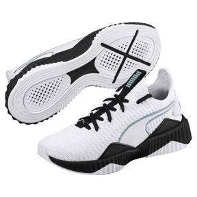 Thumbnail 2 of Basket Defy pour femme, Puma White-Puma Black, medium