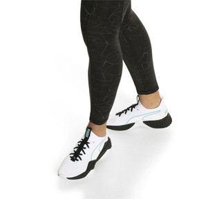 Thumbnail 8 of Defy Women's Trainers, Puma White-Puma Black, medium