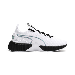 Thumbnail 5 of Basket Defy pour femme, Puma White-Puma Black, medium
