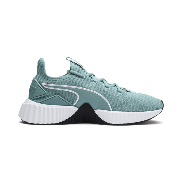 Defy Women's Sneakers, Aquifer-Puma White, large