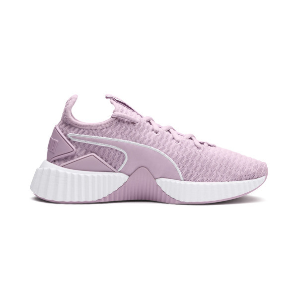 Defy Women's Training Shoes, Winsome Orchid-Puma White, large