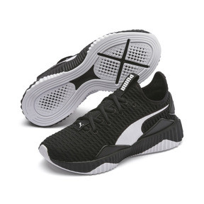 Thumbnail 3 of Defy Damen Sneaker, Puma Black-Puma White - 2, medium