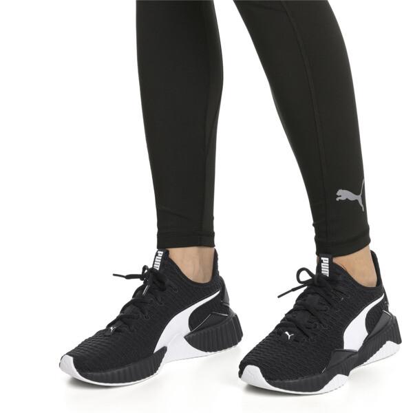 Defy Damen Sneaker, Puma Black-Puma White - 2, large