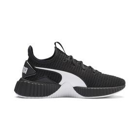 Thumbnail 6 of Defy Damen Sneaker, Puma Black-Puma White - 2, medium