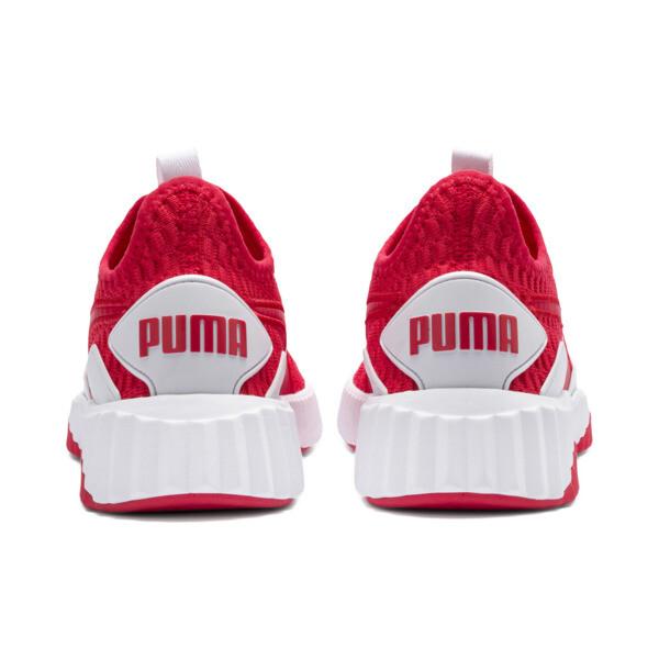 Defy Damen Sneaker, Hibiscus -Puma White, large