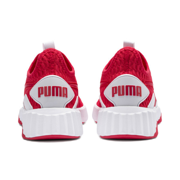 Defy Women's Sneakers, Hibiscus -Puma White, large