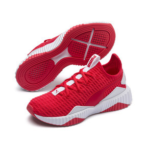 Thumbnail 2 of Defy Damen Sneaker, Hibiscus -Puma White, medium