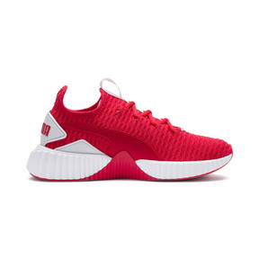 Thumbnail 5 of Defy Damen Sneaker, Hibiscus -Puma White, medium