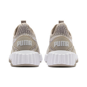 Thumbnail 3 of Defy Damen Sneaker, Silver Gray-Puma White, medium