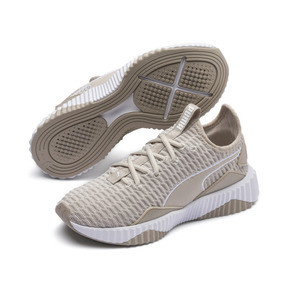 Thumbnail 2 of Defy Damen Sneaker, Silver Gray-Puma White, medium