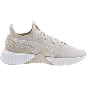 Thumbnail 4 of Defy Women's Sneakers, Silver Gray-Puma White, medium