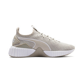 Thumbnail 5 of Defy Women's Trainers, Silver Gray-Puma White, medium