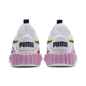 Thumbnail 3 of Defy Women's Trainers, Puma White-Pale Pink, medium