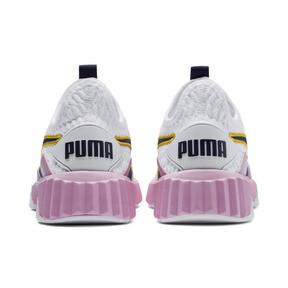 Thumbnail 3 of Defy Women's Sneakers, Puma White-Pale Pink, medium