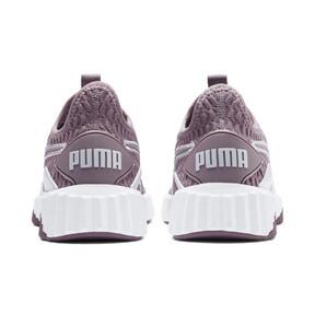 Thumbnail 4 of Defy Women's Sneakers, Elderberry-Puma White, medium