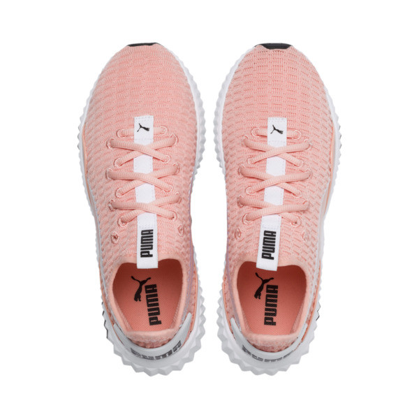 Defy sneakers voor dames, Peach Bud-Puma White, large