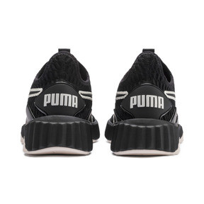 Thumbnail 4 of Defy Women's Trainers, Puma Black-Pastel Parchment, medium