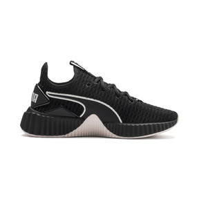 Thumbnail 6 of Defy Women's Trainers, Puma Black-Pastel Parchment, medium