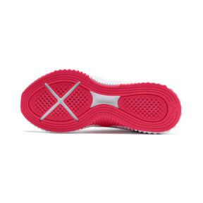 Miniatura 5 de Zapatos de entrenamiento Defy para mujer, Puma White-Pink Alert, mediano