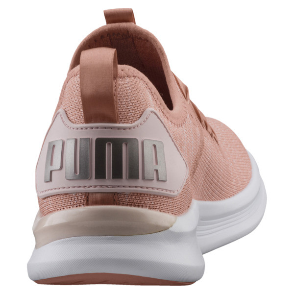 IGNITE Flash evoKNIT Satin En Pointe Women's Sneakers, Peach Beige-Pearl-White, large
