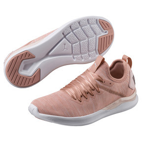 Thumbnail 2 of IGNITE Flash evoKNIT Satin En Pointe Women's Sneakers, Peach Beige-Pearl-White, medium