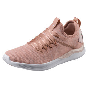 Thumbnail 1 of IGNITE Flash evoKNIT Satin En Pointe Women's Sneakers, Peach Beige-Pearl-White, medium