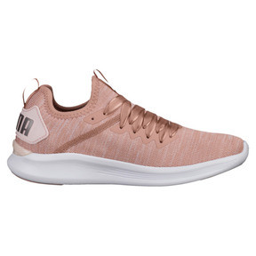 Thumbnail 3 of IGNITE Flash evoKNIT Satin En Pointe Women's Sneakers, Peach Beige-Pearl-White, medium