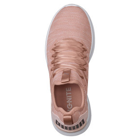 Thumbnail 5 of IGNITE Flash evoKNIT Satin En Pointe Women's Sneakers, Peach Beige-Pearl-White, medium