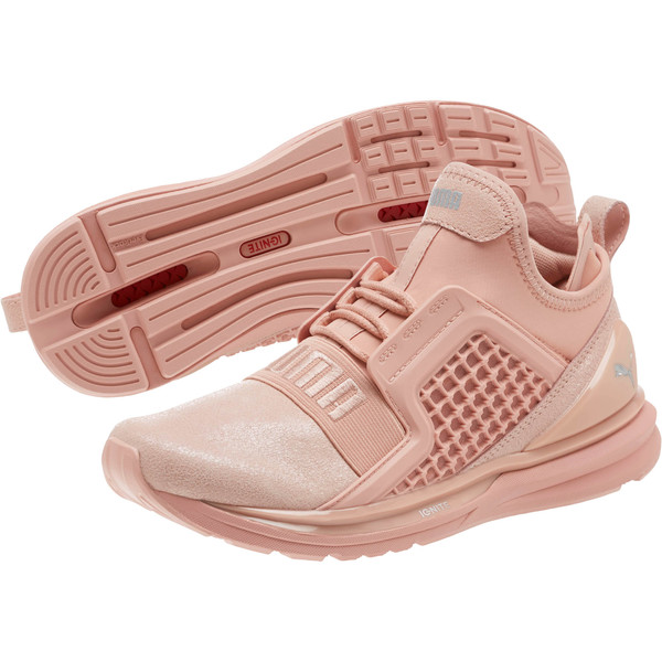 33e52c605b644 IGNITE Limitless Metallic Suede Women's Sneakers