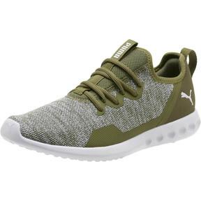 Thumbnail 1 of Carson 2 X Knit Men's Running Shoes, Olivine-Puma White, medium