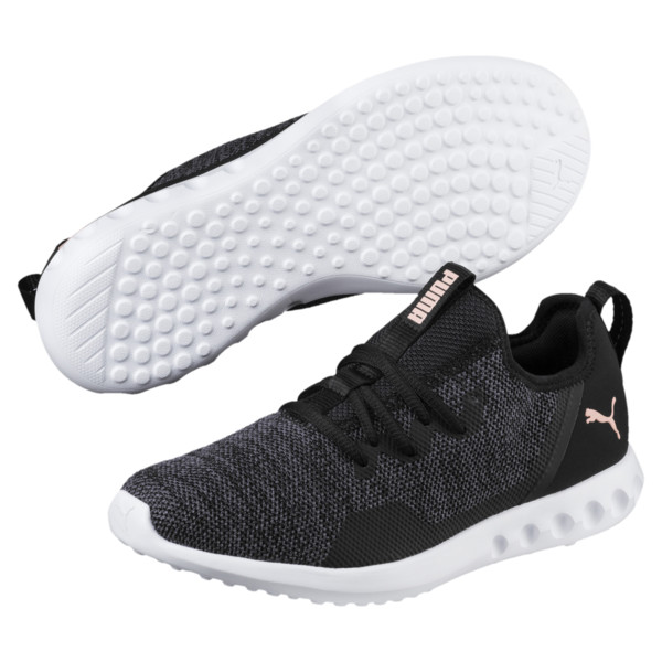 Carson 2 X Knit Women's Running Shoes, Puma Black-Periscope, large