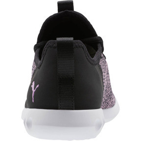 Thumbnail 3 of Carson 2 X Knit Women's Running Shoes, Puma Black-Orchid, medium