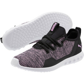 Thumbnail 2 of Carson 2 X Knit Women's Running Shoes, Puma Black-Orchid, medium