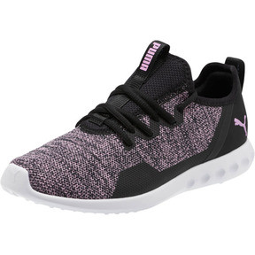 Thumbnail 1 of Carson 2 X Knit Women's Running Shoes, Puma Black-Orchid, medium