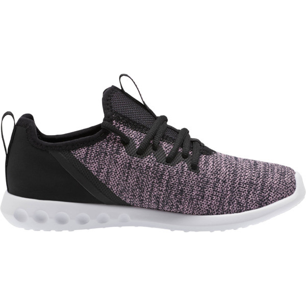 Carson 2 X Knit Women's Running Shoes, Puma Black-Orchid, large