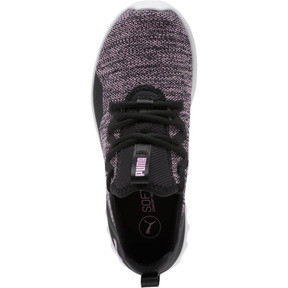 Thumbnail 6 of Carson 2 X Knit Women's Running Shoes, Puma Black-Orchid, medium