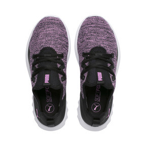 Thumbnail 4 of Carson 2 X Knit Women's Running Shoes, Puma Black-Orchid, medium